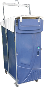 High Rise Portable Toilet in Vandalia IL